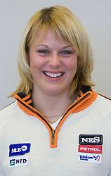 Nina-Katarina Mihovilovic of Slovenian Alpine Ski Team before new season 2008/2009, on Septembra 25, 2008, Ljubljana, Slovenia. (Photo by Vid Ponikvar / Sportal Images)
