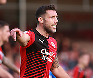 Crawley Town central defender Jon Ashton during the Sky Bet League 2 match between Crawley Town and Leyton Orient at the Checkatrade.com Stadium, Crawley, England on 10 October 2015. Photo by Bennett Dean.