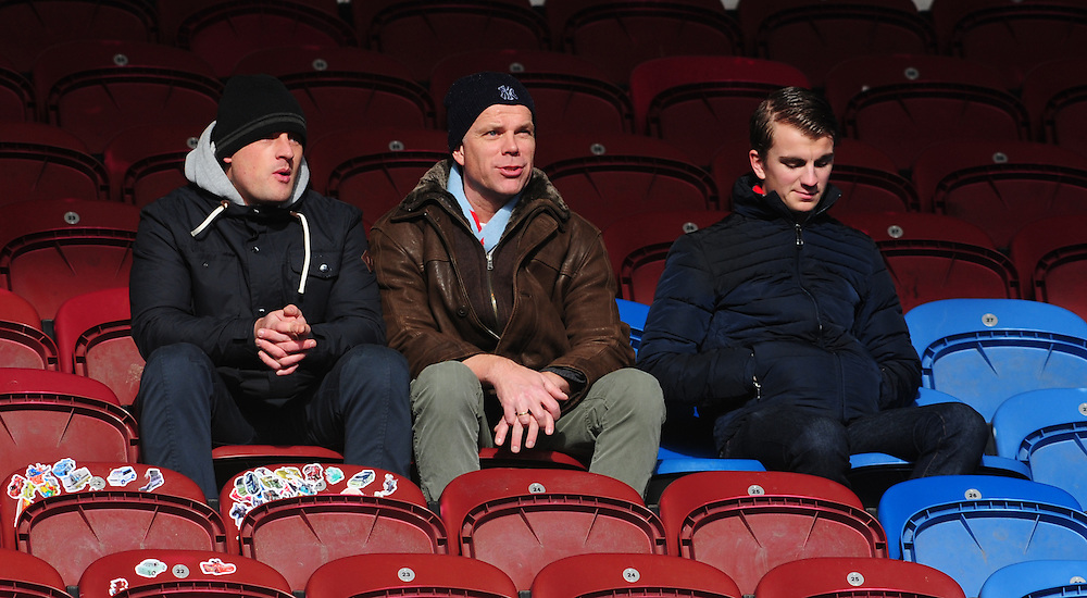Burnley fans<br /> <br /> Photographer Chris Vaughan/CameraSport<br /> <br /> Football - Barclays Premiership - Burnley v Crystal Palace - Saturday 17th January 2015 - Turf Moor - Burnley<br /> <br /> © CameraSport - 43 Linden Ave. Countesthorpe. Leicester. England. LE8 5PG - Tel: +44 (0) 116 277 4147 - admin@camerasport.com - www.camerasport.com