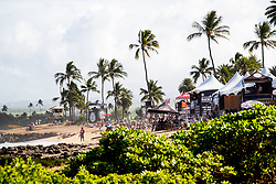 A beautiful day on hand for day one round​ ​one​ ​of the Hawaiian Pro at Haleiwa, Oahu, Hawaii, USA.