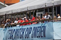 VIP's watching the Stena Match Cup Sweden. Photo: Dan Ljungsvik