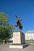 Pomnik Jana Zamoyskiego przed Pałacem Zamoyskich, Zamość