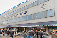 The Barry Kitchener Stand before the fourth round FA Cup match at The Den, London<br /> Picture by Richard Brooks/Focus Images Ltd 07947656233<br /> 29/01/2017
