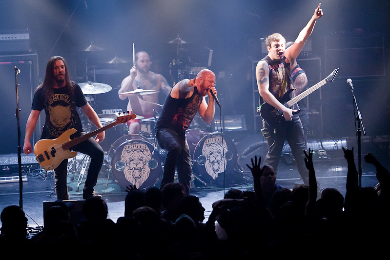 Times of Grace, Straight Line Stitch, War of Ages, Dead Men Dreaming at Gramercy Theatre, NYC, 2.22.11