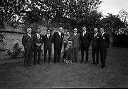 22/07/1967<br /> 07/22/1967<br /> 22 July 1967<br /> Reception at the Indian Embassy for Cricket team. The Indian team was on a tour of the British Isles and had played and beaten the Irish team the day before. Third from left is Mansur Ali Khan Pataudi, captain of the Indian cricket team.
