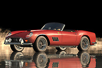 """The Ferrari 250 GT Spyder California in reality is the most precious sports car of all times. It was the brainchild of Pininfarina and it was the most luxurious car to be launched in 1960. To build the car, Pininfarina used the best of the Italian auto companies like Lamborghini, Pagani, Rothmans, Ducati, BMW, and so on. The result was absolutely superb.<br /> <br /> The Spyder California has always been a favorite with the film and TV world. There is a scene in the movie """"Spy Hard"""" when Jason Statham drives the new car through the streets of Los Angeles. With its sleek body, the car looks powerful and aggressive. Later on in the film, he even races the Lamborghini Diablo without the aid of the remote control! Though the exterior looks great and the performance is good on the inside needs some serious work. So every time you are buying a Ferrari Spyder, you should check out the interiors.<br /> <br /> If you do not want to spend much time in the garage checking the performance of your car then it would be better if you opt for the Ferrari 250 GT Spyder California in the manual transmission version. This is the optimum performance car from the series and you will definitely enjoy the driving experience when you drive it in the manual form. As you can see the car performance evaluation of the car has improved over the years and now the Spyder is the best performing car in the field of sports cars."""