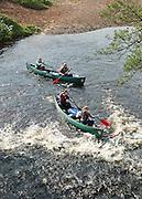 Duke of Edinburgh canoe Expedition on the River Endrick and Loch Lomond