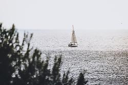 THEMENBILD - ein Segelboot vor der Küste, aufgenommen am 03. Juli 2020 in Novigrad, Kroatien // a sailboat off the coast in Novigrad, Croatia on 2020/07/03. EXPA Pictures © 2020, PhotoCredit: EXPA/ JFK