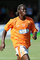 FOOTBALL - FRIENDLY GAMES 2010/2011 - FC LORIENT v STADE LAVALLOIS - 10/07/2010 - PHOTO PASCAL ALLEE / DPPI - FREDERIC MENDY (LAVAL)
