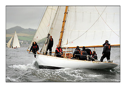 Day two of the Fife Regatta,Passage race to Rothesay.<br /> Viola, Yvon Rautureau, FRA, Gaff Cutter, Wm Fife 3rd, 1908<br /> <br /> * The William Fife designed Yachts return to the birthplace of these historic yachts, the Scotland's pre-eminent yacht designer and builder for the 4th Fife Regatta on the Clyde 28th June–5th July 2013<br /> <br /> More information is available on the website: www.fiferegatta.com