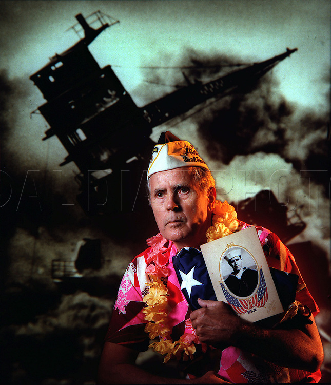 Clyde Combs survived the sinking of the Battleship USS Arizona that suffered the most devastating blow during the Japanese sneak attack on Pearl Harbor in 1941.