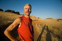 Portrait of Tim Twietmeyer. Pilot Hill, CA
