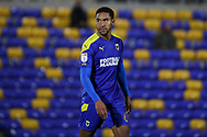 AFC Wimbledon defender Terell Thomas (6) walking off pitch during the EFL Sky Bet League 1 match between AFC Wimbledon and Doncaster Rovers at Plough Lane, London, United Kingdom on 3 November 2020. The first League match at the new stadium.