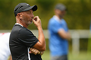 Waitakere United's head coach Paul Hobson looks on in the Handa Premiership football match, Hawke's Bay United v Waitakere United, Bluewater Stadium, Napier, Sunday, December 20, 2020. Copyright photo: Kerry Marshall / www.photosport.nz