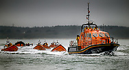 The annual get-together of the majority of lifeboats serving the Solent region, Southern UK. All lifeboats are fully operational and can be called away on rescue at any moment. But January is usually quiet and we can often manage a rare relaxed chat.