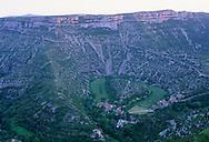 France, Languedoc Roussillon, Gard, Lozère, le Cirque de Navacelles
