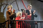 Koning Willem-Alexander en koningin Maxima openen het evenement Leeuwarden-Fryslan 2018, Culturele Hoofdstad van Europa (LF2018)<br /> <br /> King Willem-Alexander and Queen Maxima open the event Leeuwarden-Fryslan 2018, Cultural Capital of Europe (LF2018)<br /> <br /> Op de foto / On the photo:   Koning Willem-Alexander en koningin Maxima verrichten de officiele openingshandeling<br /> <br /> King Willem-Alexander and Queen Maxima perform the official opening act