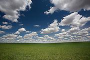 Clouds over eastern Washington.