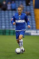 Michael Rose. Stockport County FC 1-0 Port Vale FC. Johnstones Paint Trophy. Edgeley Park. 2.9.08
