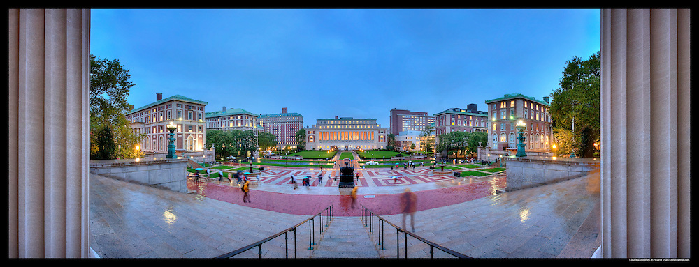 Columbia University, Stitched Panorama