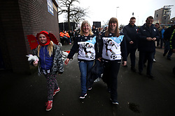 West Bromwich Albion fans arrive wearing christmas jumpers for the Premier League match at The Hawthorns, West Bromwich.