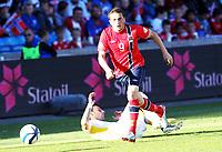 Fotball , 11. juni 2013 , Privatkamp , Norge - Makedonia<br /> Norway - FYR Macedonia<br /> <br /> Ardian Gashi ,  Norge