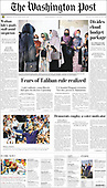 September 13, 2021 - USA: Front-page: Today's Newspapers In United States
