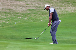 March 29, 2019 - Austin, Texas, United States - Tiger Woods hits a fairway shot on 16th hole during the third round of the 2019 WGC-Dell Technologies Match Play at Austin Country Club. (Credit Image: © Debby Wong/ZUMA Wire)