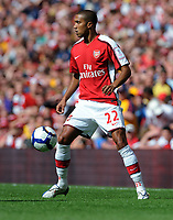 Fotball<br /> England<br /> Foto: Fotosports/Digitalsport<br /> NORWAY ONLY<br /> <br /> Gael Clichy<br /> Arsenal 2009/10<br /> Arsenal V Rangers (3-0) 02/08/09 at the Emirates Stadium<br /> The Emirates Cup 2009