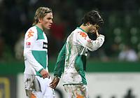 Fotball<br /> Bundesliga<br /> 04.02.07<br /> Werder Bremen - FC Schalke 04<br /> Clemens Fritz , Diego Werder<br /> DIGITALSPORT / NORWAY ONLY