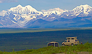 Alaska. Camping along the western end of the Denali Highway.