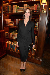 TV presenter ANDREA McLEAN at the launch of Rosewood London - a new luxury hotel at 252 High Holborn, London WC1 on 30th October 2013.