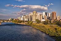 Downtown Calgary from Mewata Bridge