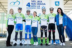 PAULIČ Jaka (SLO) of Slovenian National Team, POLANC Jan (SLO) of Slovenian National Team, LAVRIČ Martin (SLO) of Slovenian National Team and KUMP Marko (SLO) of Slovenian National Team during the UCI Class 1.2 professional race 4th Grand Prix Izola, on February 26, 2017 in Izola / Isola, Slovenia. Photo by Vid Ponikvar / Sportida