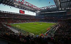 May 6, 2019 - Milano, Italia - ESCLUSIVA MILAN .Foto Spada/LaPresse.06 Maggio 2019 Milano ( Italia ).sport calcio.Milan vs Bologna - Campionato di calcio Serie A TIM 2018/2019 - Stadio San Siro .Nella foto:  lo stadio..EXCLUSIVE MILAN .Photo Spada/LaPresse.May 06 , 2019 Milan ( Italy ).sport soccer.Milan vs Bologna - Italian Football Championship League A TIM 2018/2019 - San Siro Stadium.In the pic: the stadium (Credit Image: © Spada/Lapresse via ZUMA Press)
