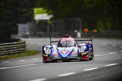 June 4, 2017 - Le Mans, France - 31 VAILLANTE REBELLION (CHE) ORECA 07 GIBSON LMP2 JULIEN CANAL (FRA) BRUNO SENNA (BRA) NICOLAS PROST  (Credit Image: © Panoramic via ZUMA Press)