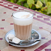 Moroccan Coffee with Steamed Milk - Nous Nous