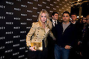 Marissa Montgomery; Jamie Reuben, A Tribute to Cinema party given by Moet and Chandon.Big Sky Studios, Brewery Rd. London.  24 March 2009 *** Local Caption *** -DO NOT ARCHIVE-© Copyright Photograph by Dafydd Jones. 248 Clapham Rd. London SW9 0PZ. Tel 0207 820 0771. www.dafjones.com.<br /> Marissa Montgomery; Jamie Reuben, A Tribute to Cinema party given by Moet and Chandon.Big Sky Studios, Brewery Rd. London.  24 March 2009