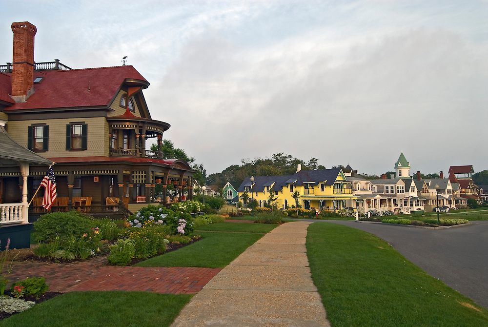 Massachusetts, Martha's Vineyard, Oak Bluffs, homes