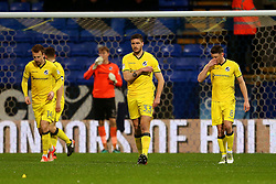 Bristol Rovers players react after conceding the opening goal - Mandatory by-line: Matt McNulty/JMP - 28/02/2017 - FOOTBALL - Macron Stadium - Bolton, England - Bolton Wanderers v Bristol Rovers - Sky Bet League One