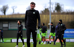 New Signing Baily Cargill of Forest Green Rovers warms up- Mandatory by-line: Nizaam Jones/JMP - 16/01/2021 - FOOTBALL - innocent New Lawn Stadium - Nailsworth, England - Forest Green Rovers v Port Vale - Sky Bet League Two