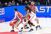 Raduljica Miroslav, EA7 Emporio Armani Milano vs Consultinvest Pesaro, LBA serie A 14^ giornata stagione 2016/2017, Mediolanum Forum Milano 2 gennaio 2017