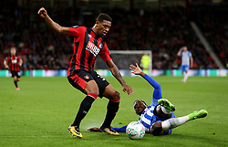 AFC Bournemouth Jordon Ibe (left) and Brighton and Hove Albion Jose Heriberto Izquierdo in action during the Carabao Cup, third round match at the Vitality Stadium, Bournemouth.