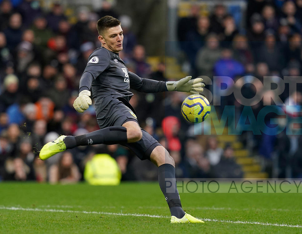 Nick Pope of Burnley during the Premier League match at Turf Moor, Burnley. Picture date: 2nd February 2020. Picture credit should read: Andrew Yates/Sportimage