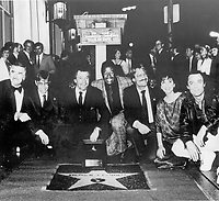1986 Stephen J Cannell's Walk of Fame ceremony