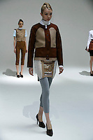 Aleksandra Tsyganenko wearing Julian Louie Fall 2009 Collection