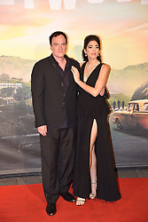 August 3, 2019, Rome, italy: Rome, Cinema Adriano Film Premiere ''Once Upon A Time ... in Hollywood, In the picture: Quentin Tarantino with his wife Daniella Pick (Credit Image: © Vincenzo Landi/IPA via ZUMA Press)