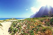 Polihale Beach, Kauai, Hawaii, USA<br />