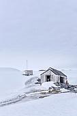 Antarctica Base W Detaille Island
