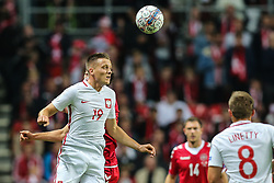 September 1, 2017 - Copenhagen, Denmark - Piotr Zielinski (POL), during the FIFA 2018 World Cup Qualifier between Denmark and Poland at Parken Stadion on September 1, 2017 in Copenhagen. (Credit Image: © Foto Olimpik/NurPhoto via ZUMA Press)